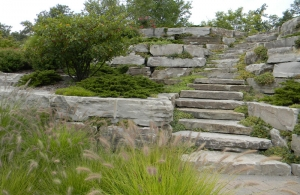 Hardscaping Bloomfield Hills MI - Patios | Landscape Gardens - Austin-walls-and-stairs