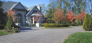 Expert Landscape Installation Around Clarkston MI | Landscape Gardens - house_front