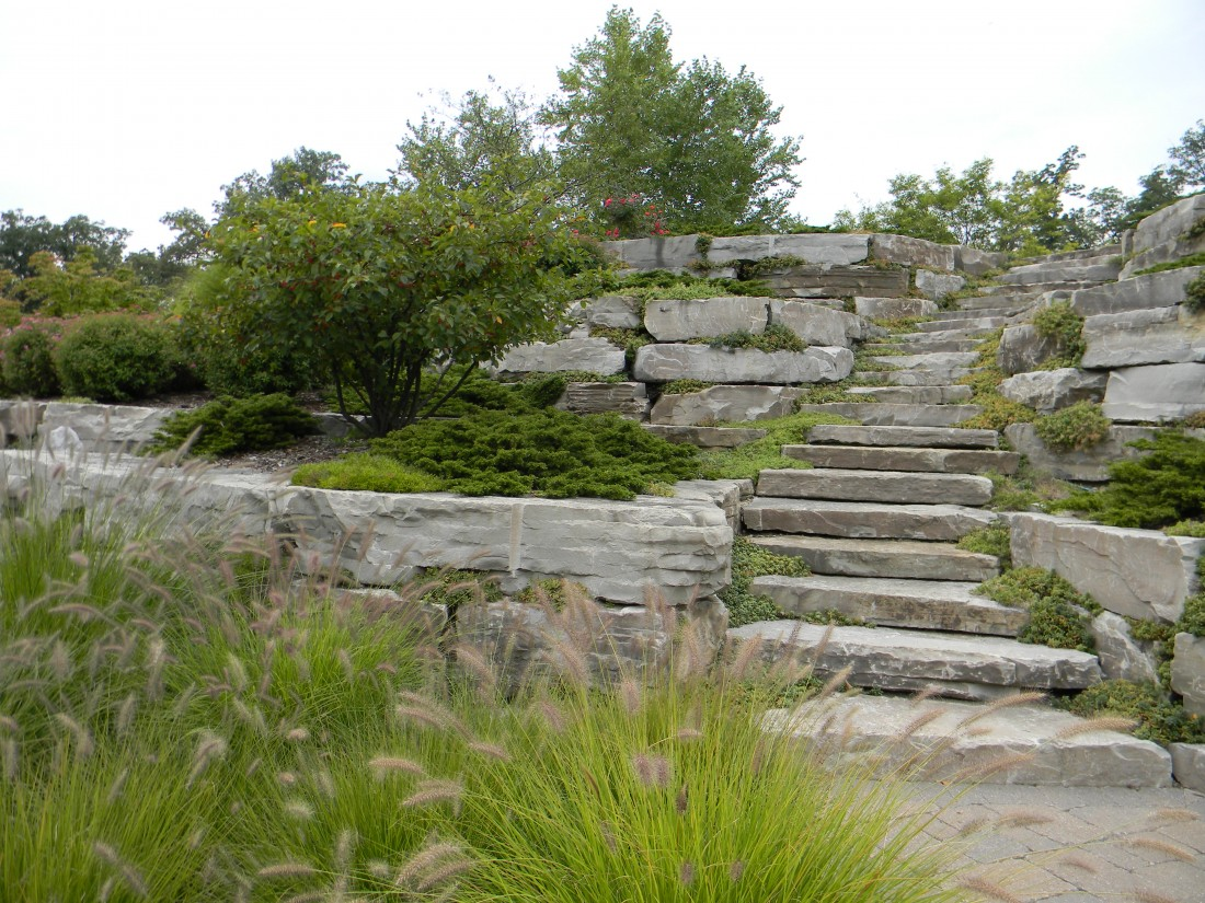 Landscaping Design Company West Bloomfield MI | Landscape Gardens - Austin_walls_and_stairs